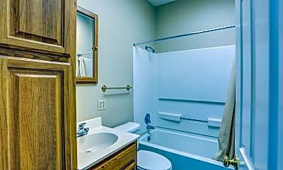 Bathroom, Oak Grove Apartments, 2