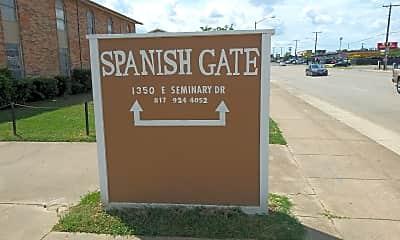 Spanish Gate Apartments, 1