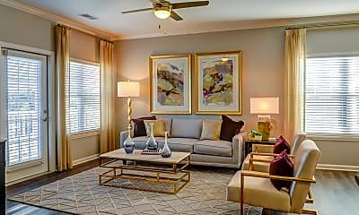 Living Room, York Woods at Lake Murray, 1