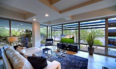 Living Room, 7161 E Rancho Vista Dr 2007, 0