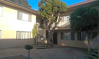 Building, Gemini Apartments, 1