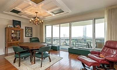 Living Room, 2077 Center Ave 19J, 0