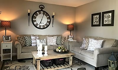 Living Room, Sunridge Apartments, 0