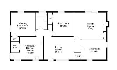 Building, 2708 Benoch Ave, 1