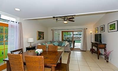 Living Room, 6266 Ke?kea Pl, 0