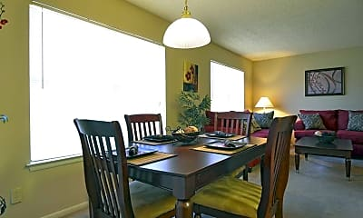 Dining Room, Sycamore Creek, 1