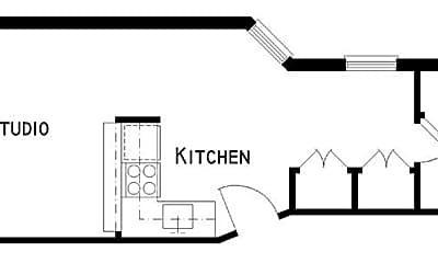 Kitchen, 345 E 85th St, 2