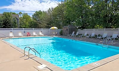Pool, Towne House Apartments, 0