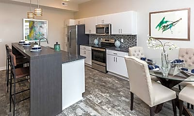 Kitchen, Cadence Apartments, 2