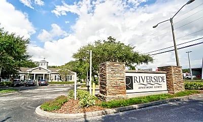 Community Signage, Riverside Tarpon Springs, 2