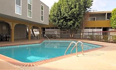 Pool, Reseda Continental, 0