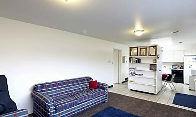 Living Room, Cottonwood Apartments, 1