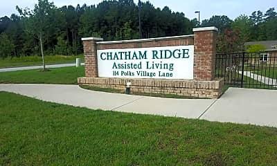 CHATHAM RIDGE ASSISTED LIVING, 1