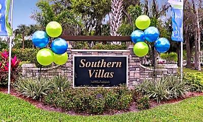 Community Signage, Southern Villas, 1