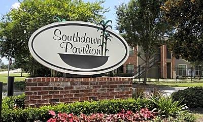 Community Signage, Southdown Pavilion, 2