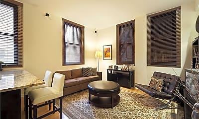 Living Room, 56 Pine St 14-D, 0