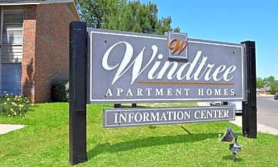 Community Signage, Windtree Apartment Homes, 2