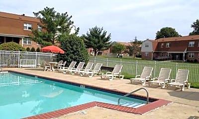 Pool, Foxwood Manor Apartments, 0