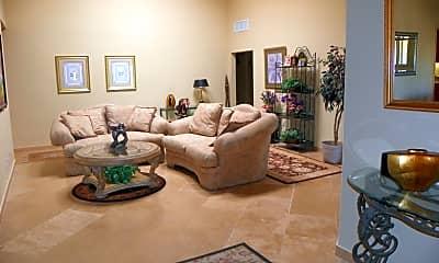 Living Room, 8012 E Via Campo, 1