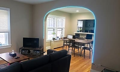Living Room, 9 Seminary Ave 1E, 2