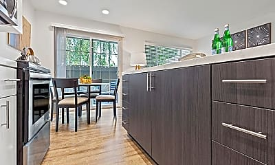 Kitchen, The Franciscan Apartments, 1
