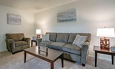 Living Room, Vista Pointe I Apartments, 1