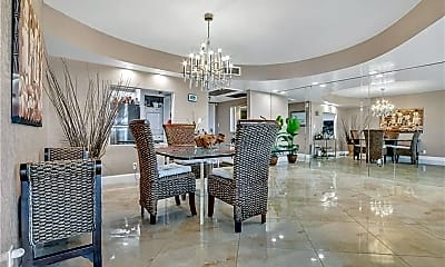 Dining Room, 3800 Oaks Clubhouse Dr, 1