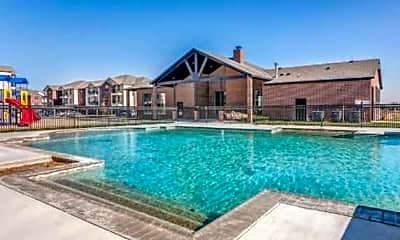 Pool, Ridgewood Apartments, 2
