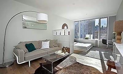 Living Room, 158 W 83rd St 5-B, 1
