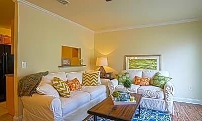 Living Room, Eagles Landing Townhomes, 1