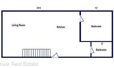 Building, 539 S Graham St, 1