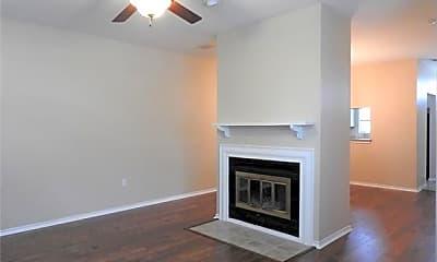 Living Room, 6303 Prospect Ave B 101, 1
