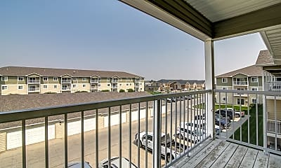 Patio / Deck, Timber Trails Apartments, 2