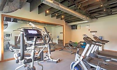 Fitness Weight Room, Huntington, 2