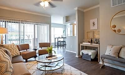 Living Room, Eastbridge Apartments, 0