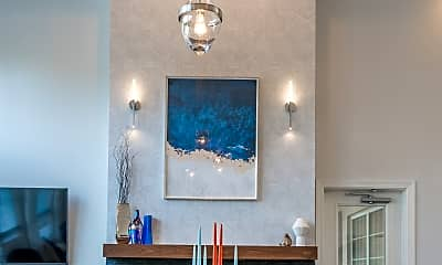 Dining Room, The Ashborough Apartments, 2
