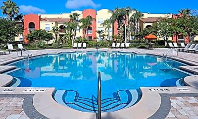 Pool, Mission Club Apartments, 0