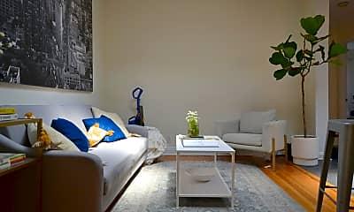 Living Room, 225 E 12th St 5B, 2