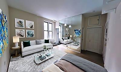 Living Room, 165 E 36th St 1-B, 0