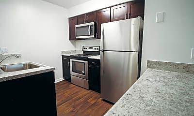 Kitchen, Oak Lake Apartments, 0