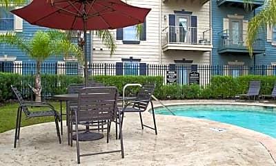 Pool, Pepper Tree Manor, 1