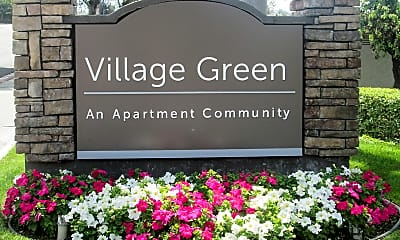 Community Signage, Village Green, 1