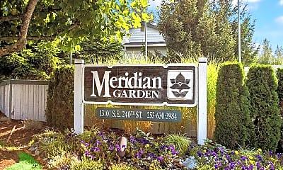 Community Signage, Meridian Garden, 1