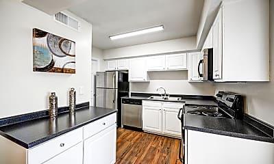 Kitchen, Booker Creek Townhouse Apartments, 0