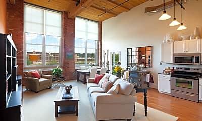Living Room, 210 Merrimack St, 1