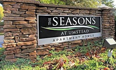 Community Signage, Seasons at Umstead, 2