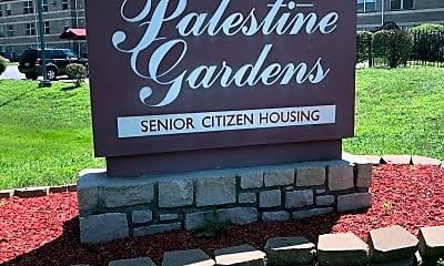 Palestine Gardens Apartments, 1