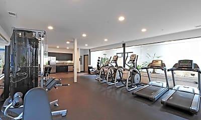 Fitness Weight Room, Textile Lofts @ Plantzero, 1