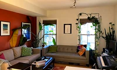 Living Room, 12 Quincy St, 1