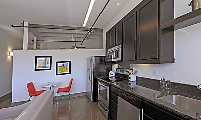 Kitchen, The Argon Apartments, 1